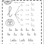 Fichas lectoescritura sílabas directas