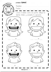 suma restas dientes