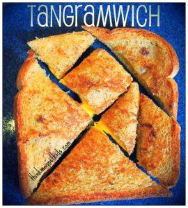 tangram sandwich