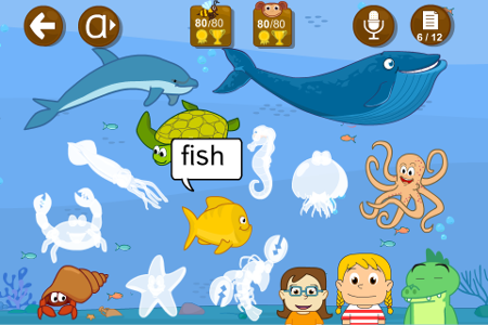 animals english app