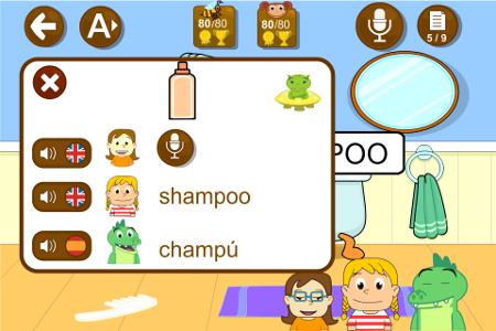 juegos aprender ingles para ninos grabar voz