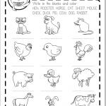 ANIMALES DOMESTICOS FICHA INFANTIL GRATIS