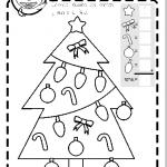 Ficha Navidad contar y colorear