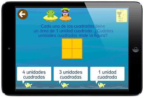 ejercicios Área matemáticas grin 678 app