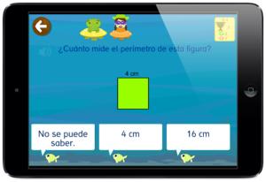 ejercicios Perímetro matemáticas grin 678 app