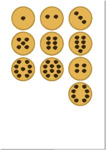 tarro números galletas educaplanet