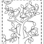 colorea estaciones árbol GRATIS
