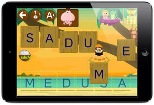 deletrear palabras juego app