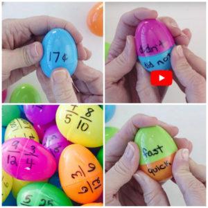 collage actividades huevos pascua