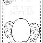 ficha huevos pascua colorea educaplanet