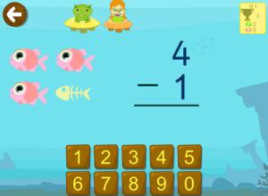 restas peces operaciones preescolar primero primaria