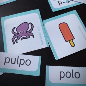 Imprimibles para lectoescritura
