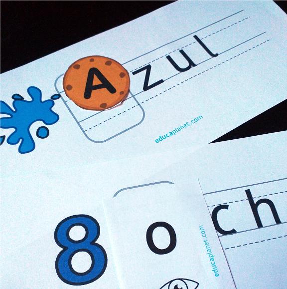 Vocales inicio de palabras actividad para imprimir gratuita conciencia fonológica.