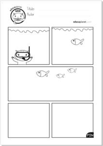 Completa el comic - actividad de escritura