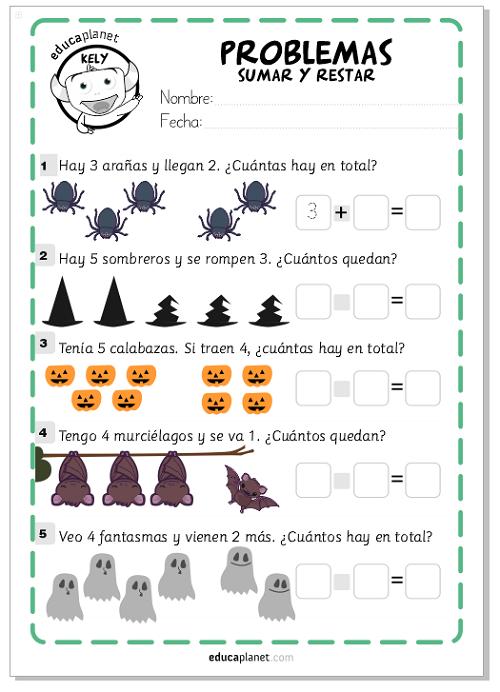 Ejercicios Sumar Restar Matematicas Fichas Gratis Infantil Y Primaria Educaplanet Apps