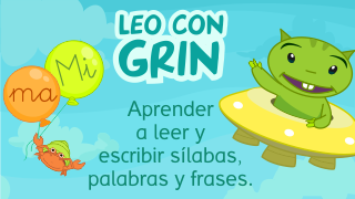 App Leo con Grin Aprender a leer