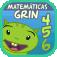 Icono Matemáticas con Grin 456