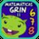Icono app Matemáticas con Grin 678
